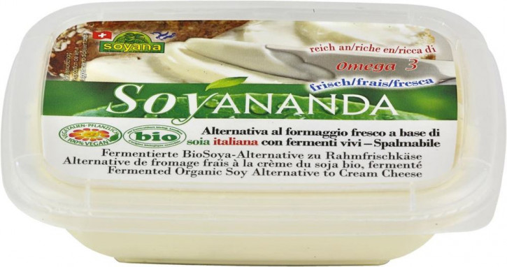 Soyananda bio Rahmfrischkäse-Alternative 140gr
