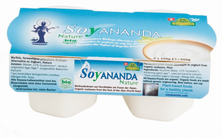 Soyananda bio Joghurt-Alternative Nature 2x250 g