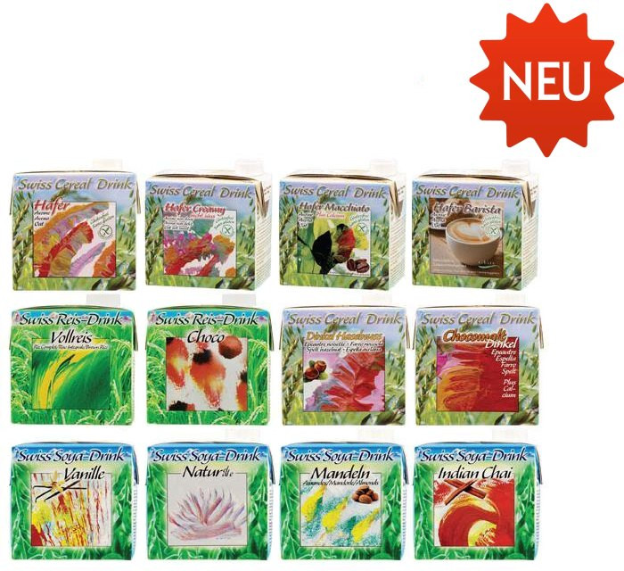 Bio Swiss-Drinks Probierpack
